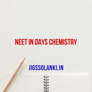 NEET in 40 Days Chemistry